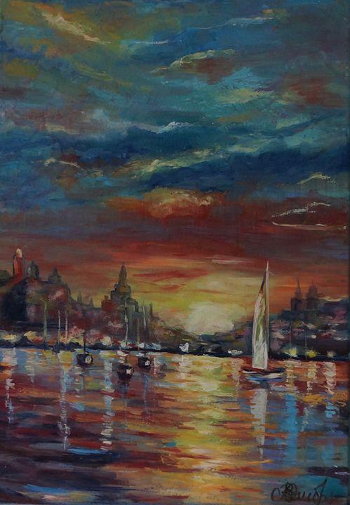 sunset - Olga Prin