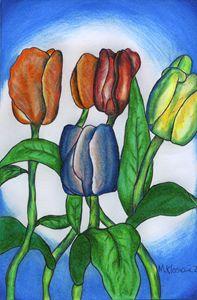 Pretty flowers 2 - Mark's Art