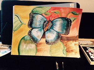 Butterflies in season