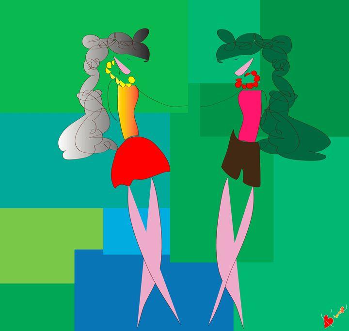 Sisters - My Little Drawings