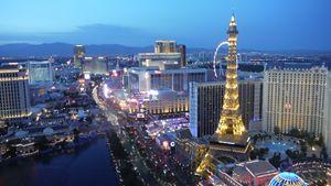 Evening in Las Vegas
