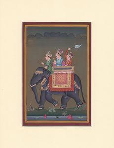 Elephant and Maharajas