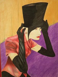 Lady in a Top Hat