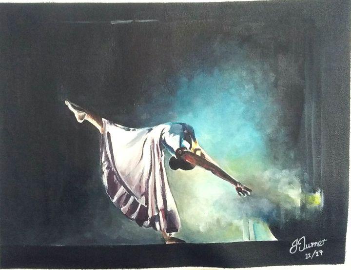 The dancer - Jud's Art World
