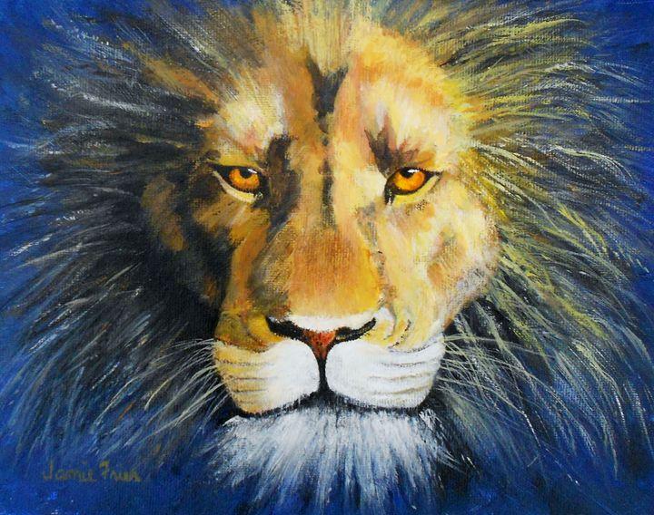 King Cat - Vivid Perceptions by Jamie Frier