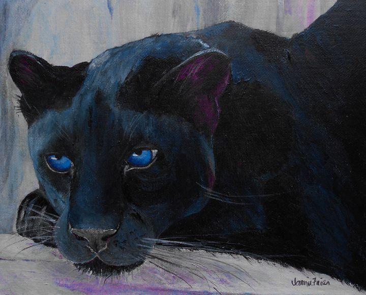 Blue Eyed Beauty - Vivid Perceptions by Jamie Frier