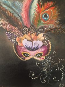 The Gaze Behind the Venetian Mask