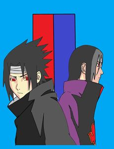 Sasuke and Itachi Fan Art