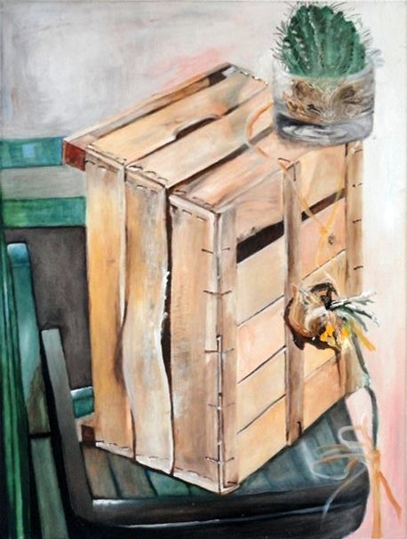 Wooden Crate - Manev Art