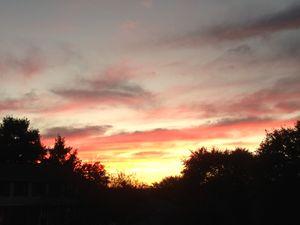 The Sky is Ablaze