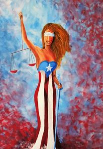 Lady justice of Puerto Rico