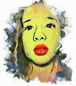 Colorful child - Rachael's art