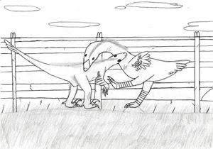 the flightless birds fight (pinned) - The broken teleporter