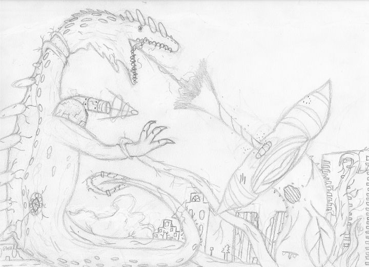weaponize lizard vs mutated plant - The broken teleporter
