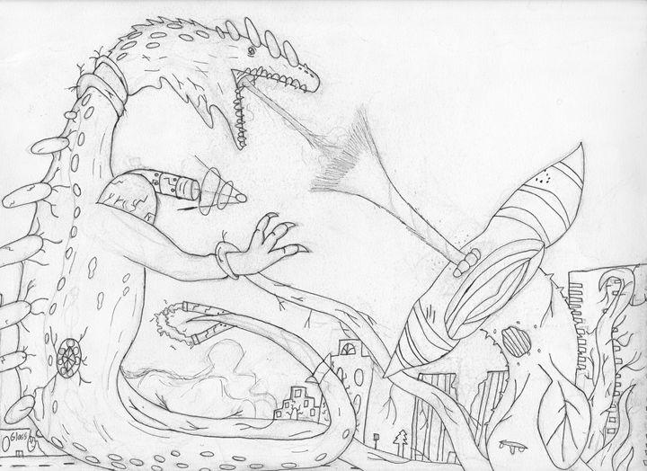 huge lizard vs acid plant (pinned) - The broken teleporter