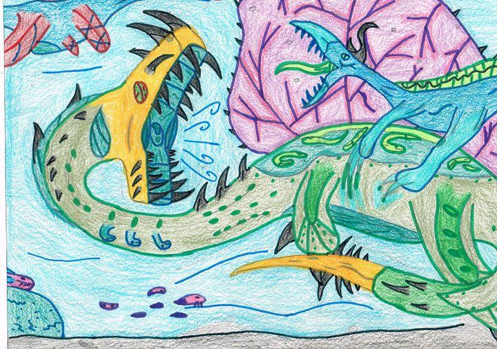 the blue lagoon beast - The broken teleporter