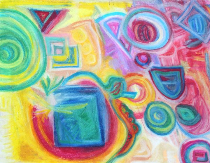 Shapes Abstract - Sarah Pepper