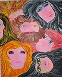 24x36 Original Acrylic Painting