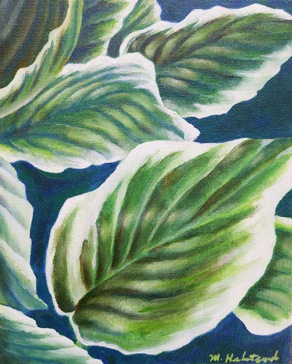 Hosta Leaves - Melissa Frisella