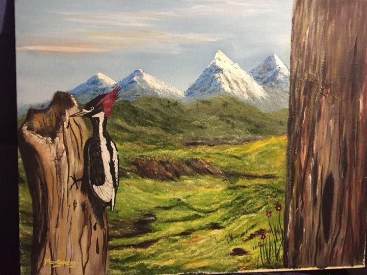 The Woodpecker - David Montgomery