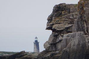 Indian Head Hidden Within Rock