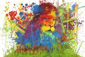 Lion's True Color