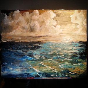 Ocean In Turmoil