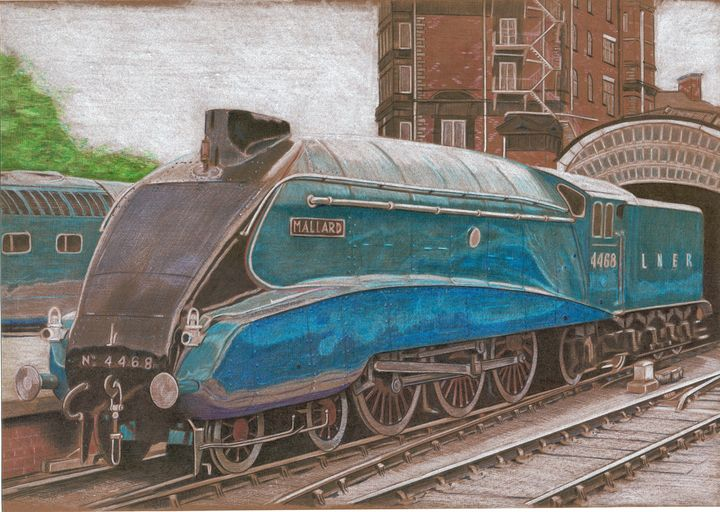 locomotive LNER - Oleg Kozelsky