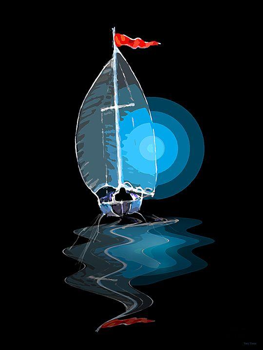 Sailing away - Yury Yanin