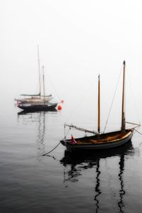 Foggy Boats