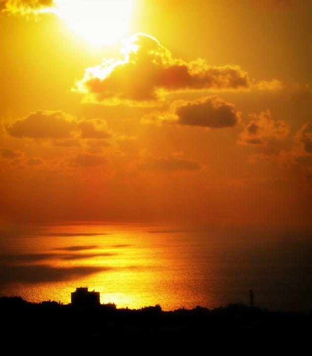 Haifa Sunset - MaryLanePhotography