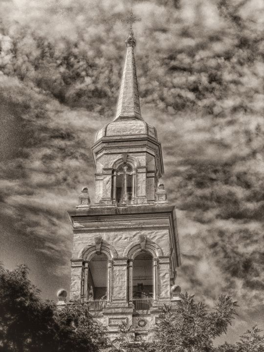 Granby Steeple - MaryLanePhotography