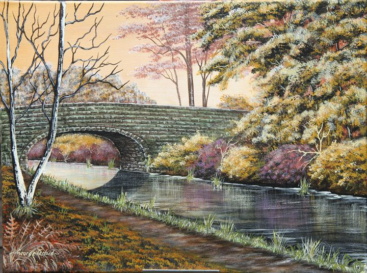 Peace on the canal - george telford