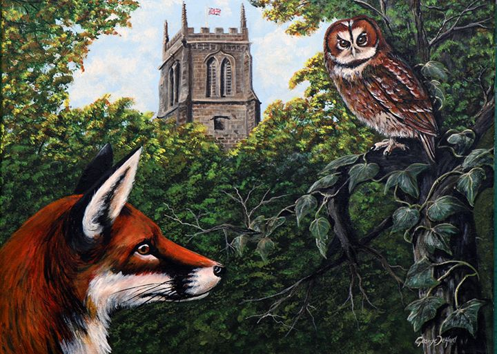 reynard and the wise old owl - george telford