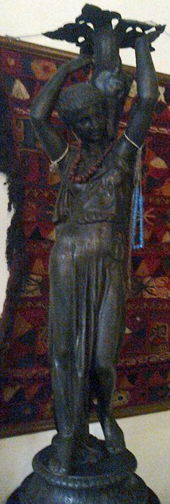 Bronze Sculpture Piombo Della - Maxi Retro Hub