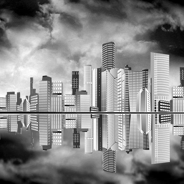 Nighttime Cityscape - Peggy Garr