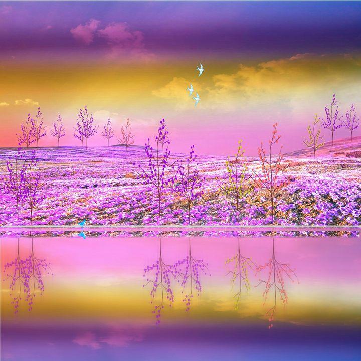 Field of Flowers - Peggy Garr