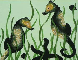 'ShadowPop' Seahorses