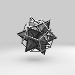 Caged Stellated Dodecahedron