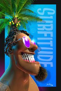 Beached Heads - Surfitude - The Art of Joseph Alexander Wraith