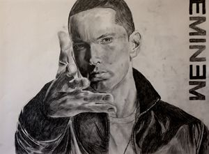 Eminem pencil sketch