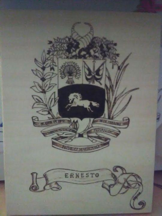 Venezuela Coat of Arms-Personalized - Ceci's Universe