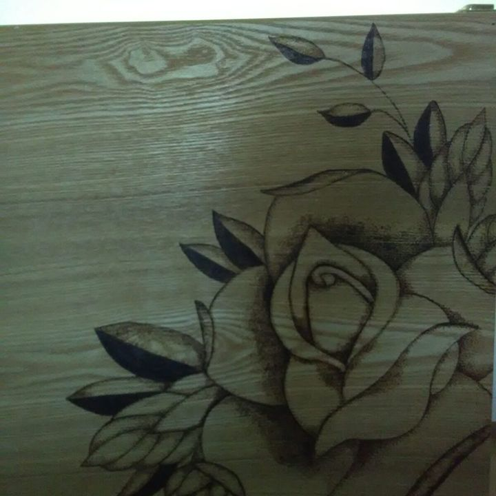 Rose on Drawing Case - Ceci's Universe
