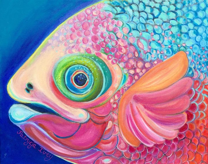 Colorful Fish - Patrycja Hauer-Ivey