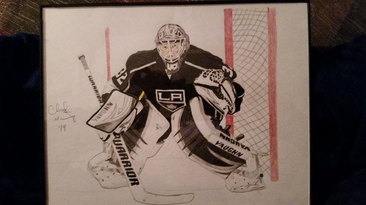Jonathan Quick Los Angeles Kings - Sportistry Professional Artwork