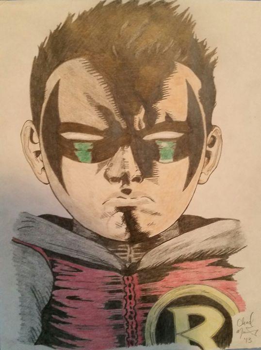 Robin Boy Wonder - Sportistry Professional Artwork