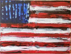 Hero's Flag - Creations Fine Art