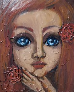Blue Eyes Red Rose