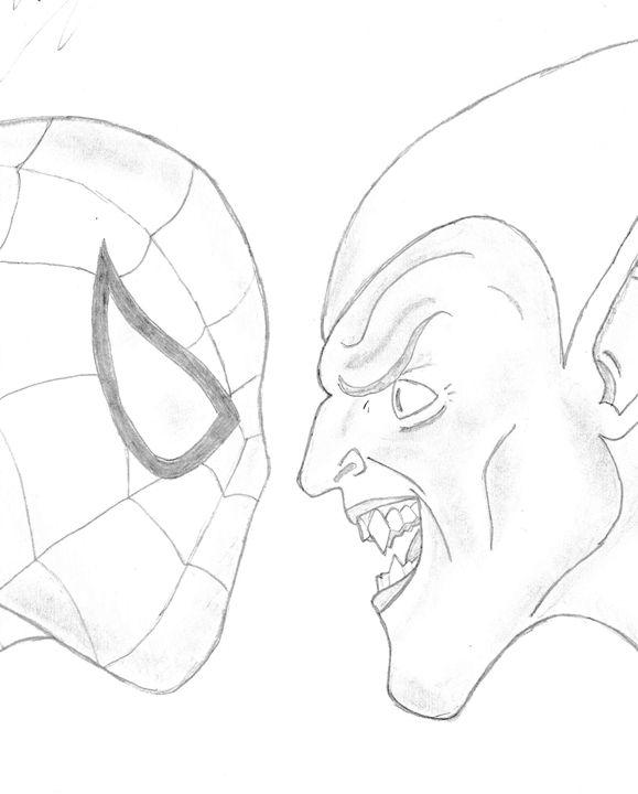 Spiderman and Green Goblin - Loveless
