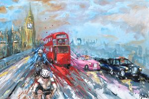 Cycling around London
